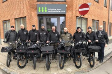 Tysk prisvinder bag lokale viceværters nye cykler