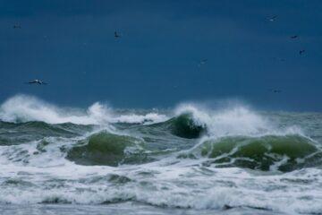Stormvejr på vej til Mors