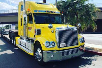 En bødebelagt lastbiltur