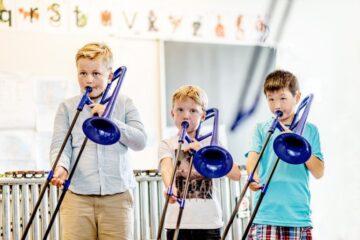 Flere børn får mulighed for at spille i skoleorkester