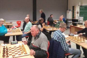 Morsø Skakklub sluttede på tredjeplads
