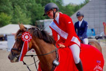 Sidste sæson på pony: Caroline Attermann håber på stævner