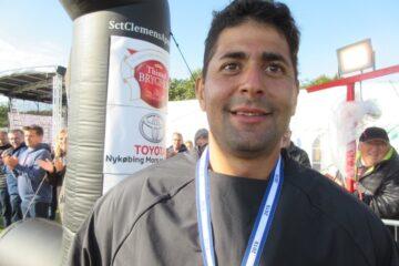 100 miles-løber arbejder på alternativ plan