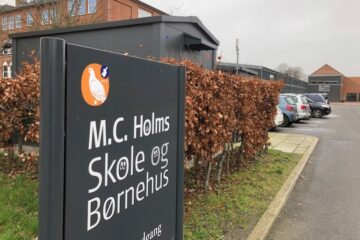 M.C. Holms Skole lukket til efter nytår