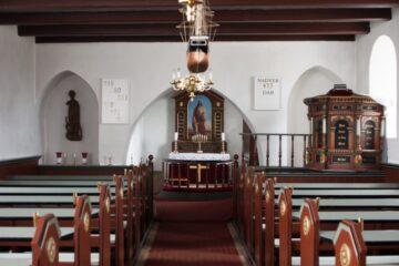 Jørsby Kirke slipper af med sin luftfugtighed
