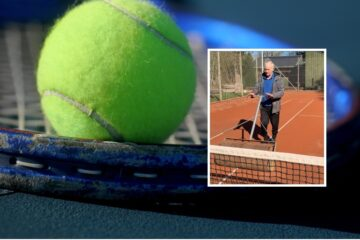 Tennisklubben har fået stort ungdomsboom