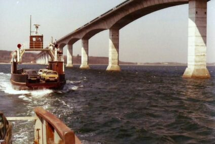 – Når jeg rammer broen, føler jeg mig hjemme
