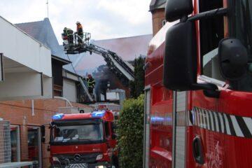 10 blev evakueret under onsdagens storbrand