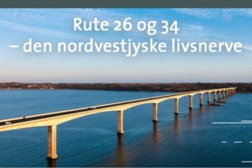 – Fremrykket udvidelse af Rute 26/34 vil gavne på både kort og langt sigt