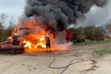 Halvandet års fængsel og stor erstatning for brandstiftelse i Sejerslev