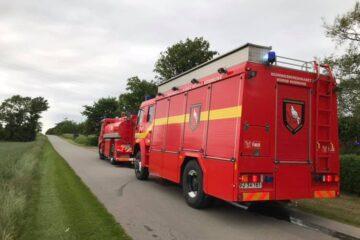 Måtte tilkalde brandvæsenet to gange