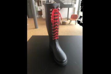 Endeligt punktum i langstrakt sag om gummistøvle