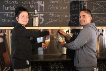 Ølbaren er også et bryghus