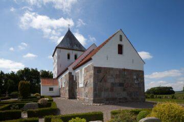 Kirken der lå et helt andet sted