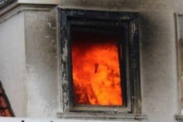 Husejer sigtet efter brand