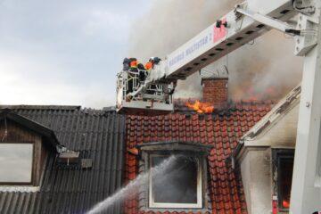 Brand på Vesterbro i Nykøbing