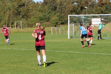 Seks mål af Sofie Tonsgaard i ny sejr til serie 1-damerne