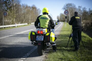 Politiet efter færdselskontrol: – Det er godt nok vildt