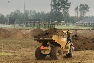 Maskinerne er løs i multiparken: Brugerne glæder sig til øens nye mødested