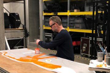Kunstværk tager form på Limfjordsteatret