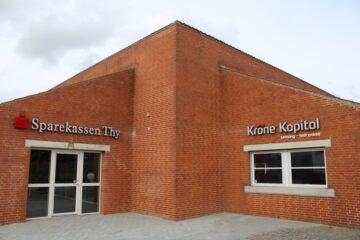 Sparekassen Thy skruer op for synligheden i Nykøbing