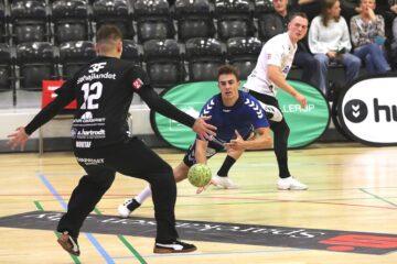 Mads Hoxer og Frederik Bjerre på U21-landsholdet