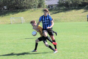 Morsø FC's u-19-drenge hentede en arbejdssejr ude mod Måbjerg IF