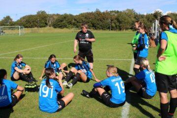 Morsø FC-damerne er nu i jyllandsserien