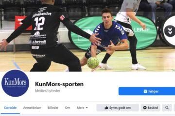 Ny Facebook-side for den lokale sport