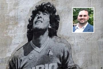– Har man været i Napoli, har man oplevet Maradona