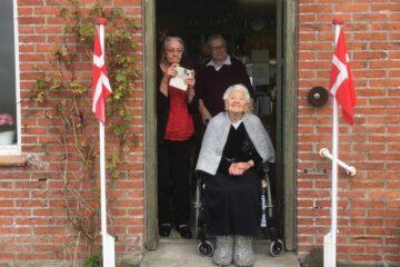 100-årige Frida fejret i Blidstrup