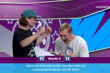 Tobias Brandt i dramatisk kvartfinale