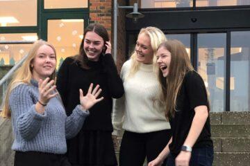 Fire piger fra Mors var spot on i landsdækkende konkurrence