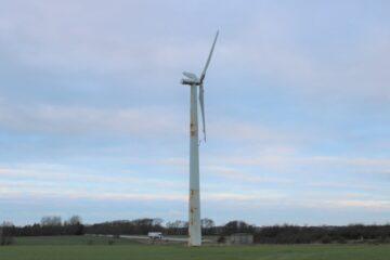 Kommunen vil kontakte ejer af forlist vindmølle