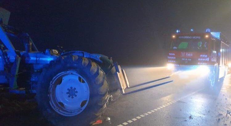 Traktorfører sigtes for flere forhold