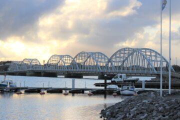 Køer fik spærret Vilsundbroen