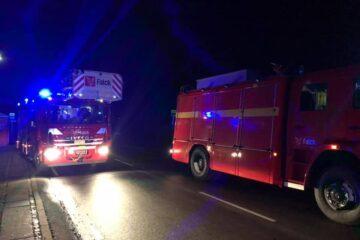 Stuehus går tabt i brand