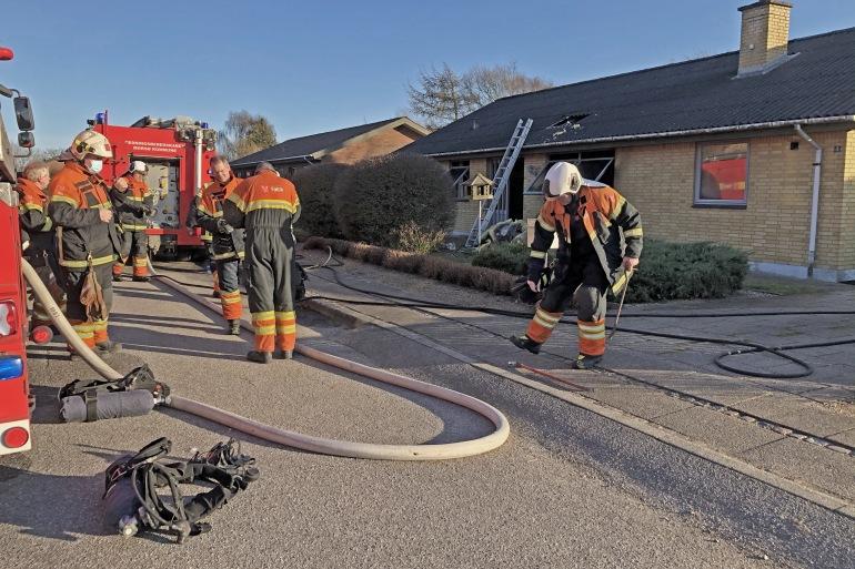 Beboere må genhuses efter brand i Øster Assels