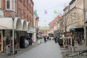 Butikslejen i Danmark er faldet de seneste syv år