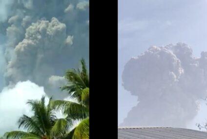 Morsingbo er eneste dansker i caribisk vulkanudbrud