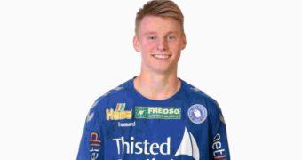 Viktor Bergholt på kontrakt i Mors-Thy