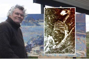 Jens fandt skelettet af et får – og så blev der kunst