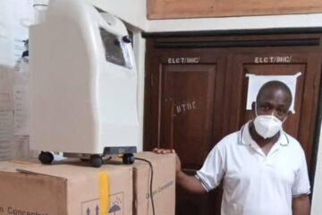 Stor taknemmelighed over iltudstyr i Bukoba