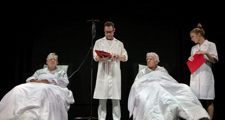 Peter Schrøder og Kurt Ravn spiller i Morsø Teater