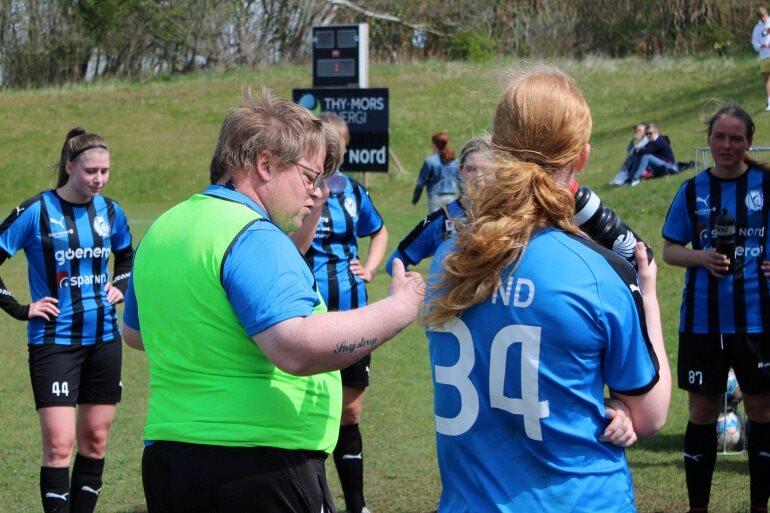Morsø FC-damer overvandt både modstandere og blæsevejret