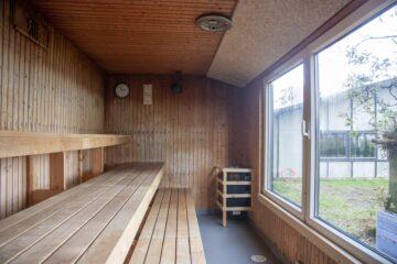 Nu har vinterbaderne en sauna