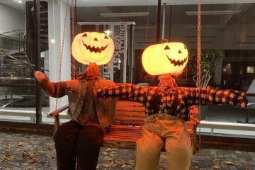 Halloween begynder med fjordmonstre
