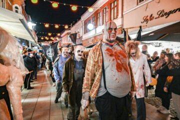 Zombier og andre monstre gav hygge med kuldegysninger