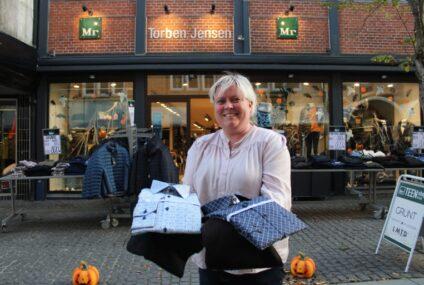Vinder af tøj fra Mr. Torben Jensen